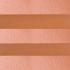 Шторы плиссе Жемчуг оранжевый
