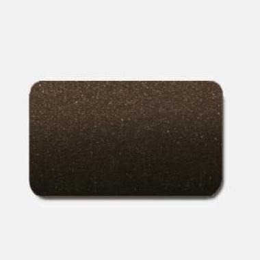 Горизонтальные жалюзи темно-коричневые металлик