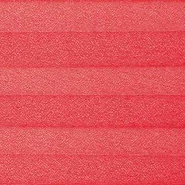 Шторы плиссе Креп красный
