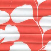 Шторы плиссе Гинко красный
