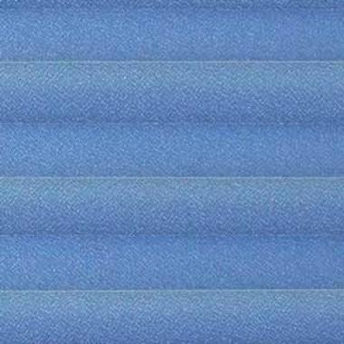 Шторы плиссе Креп перла синий