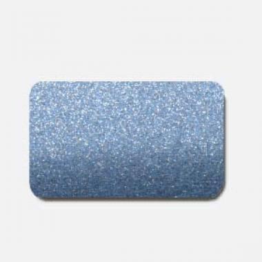 Горизонтальные жалюзи синие металлик