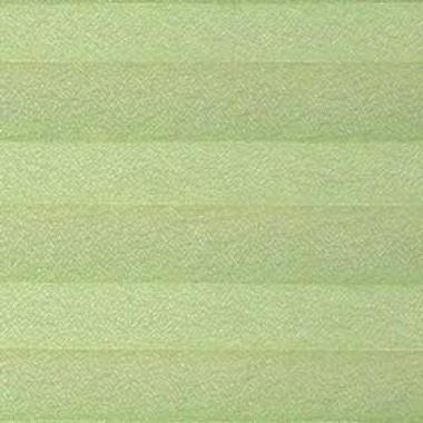 Шторы плиссе Креп зеленый