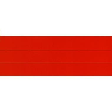 Горизонтальные жалюзи красного цвета