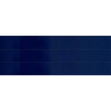 Горизонтальные жалюзи темно-синего цвета