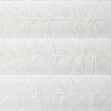 Шторы плиссе Краш перла белый