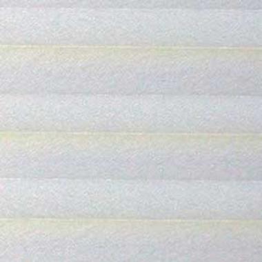 Шторы плиссе Креп перла белый
