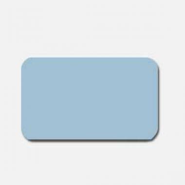 Горизонтальные жалюзи голубые матовые