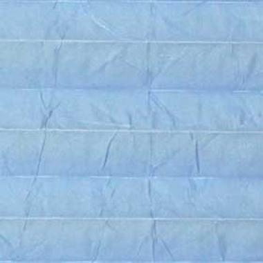 Шторы плиссе Краш перла голубой