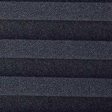 Шторы плиссе Креп перла черный