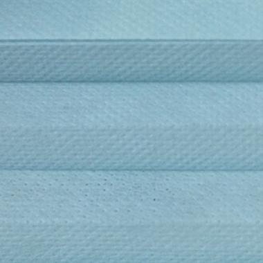 Шторы плиссе Гофре Папирус светло-голубой