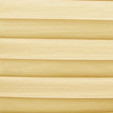 Шторы плиссе Капри желтый