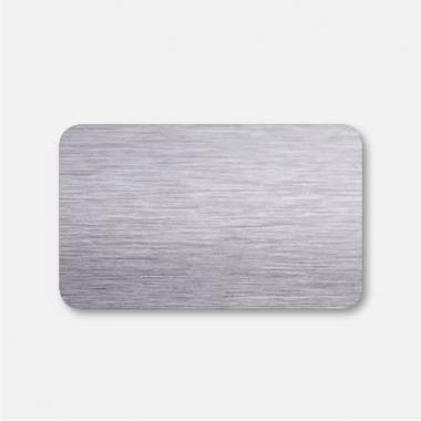 Горизонтальные жалюзи серебро браш