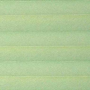 Шторы плиссе Креп перла светло-зеленый