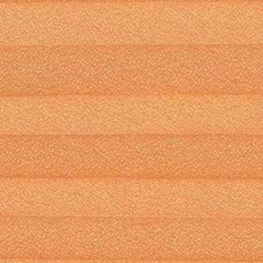 Шторы плиссе Креп оранжевый