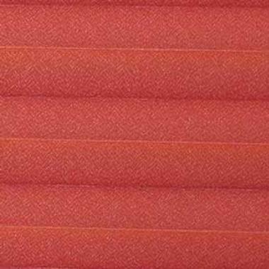Шторы плиссе Креп перла красный