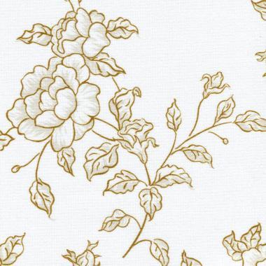 Китайская роза 2870 коричневый