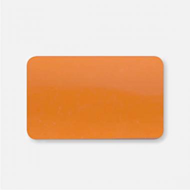 Горизонтальные жалюзи оранжевые глянцевые