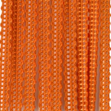 Вертикальные жалюзи БРИЗ оранжевый 4290
