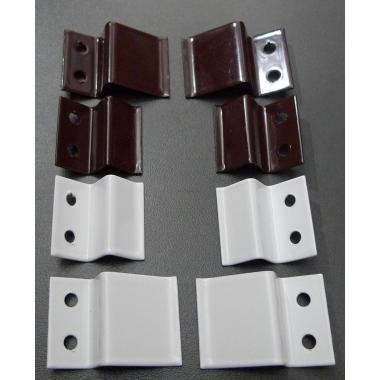 Z-образное крепление для установки рамочных москитных сеток