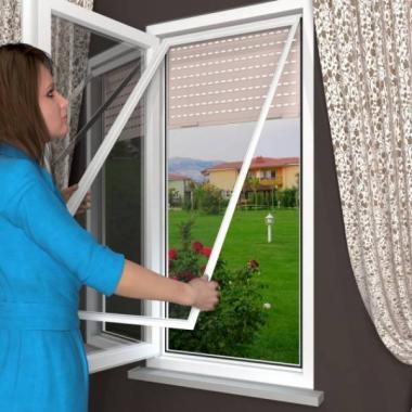 Рамочные москитные сетки SKF на окна
