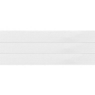 Горизонтальные жалюзи с перфорацией белого цвета 100