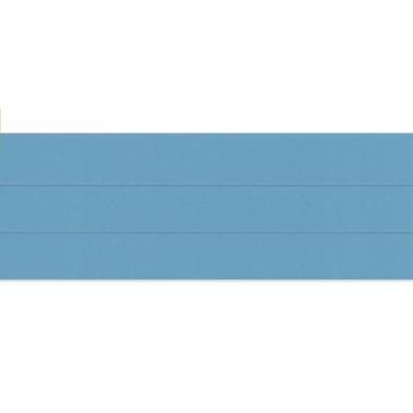 Горизонтальные жалюзи голубого глянцевого цвета 753
