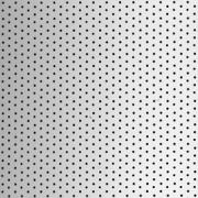 Вертикальные жалюзи Алюминий 89 мм х 0,27, перфорация, металлик
