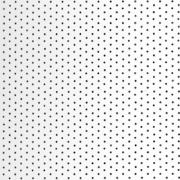 Вертикальные жалюзи Алюминий 89 мм х 0,27,  перфорация - белый глянец